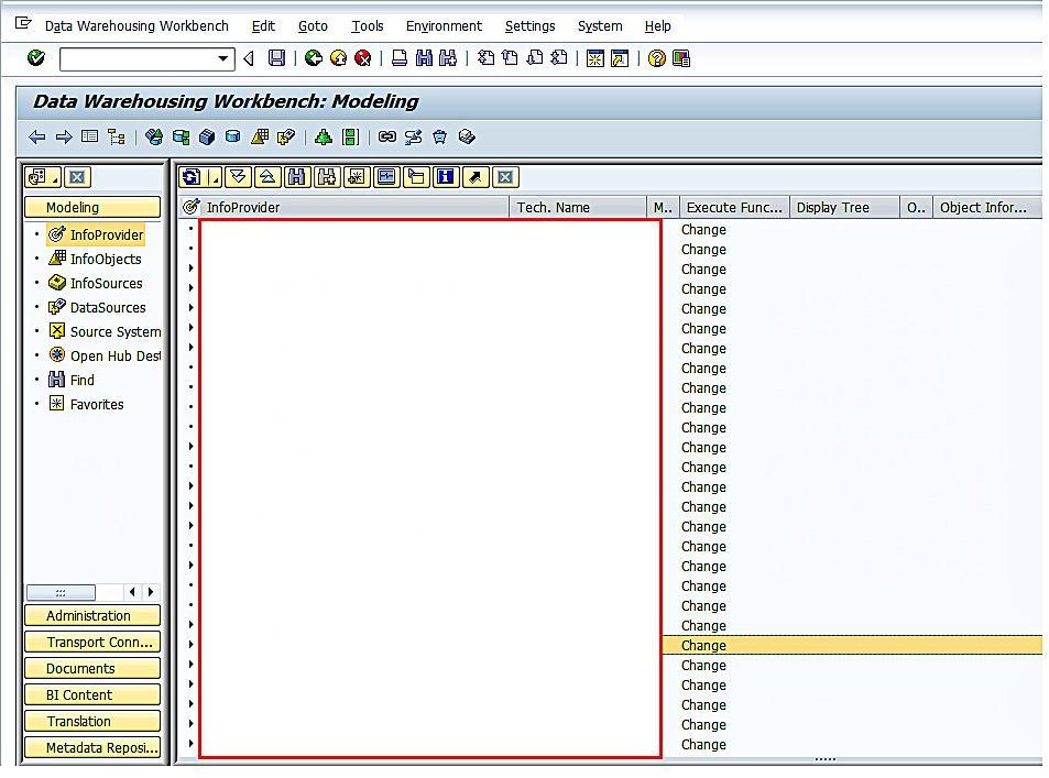 Data Warehousing Workbench: Modeling