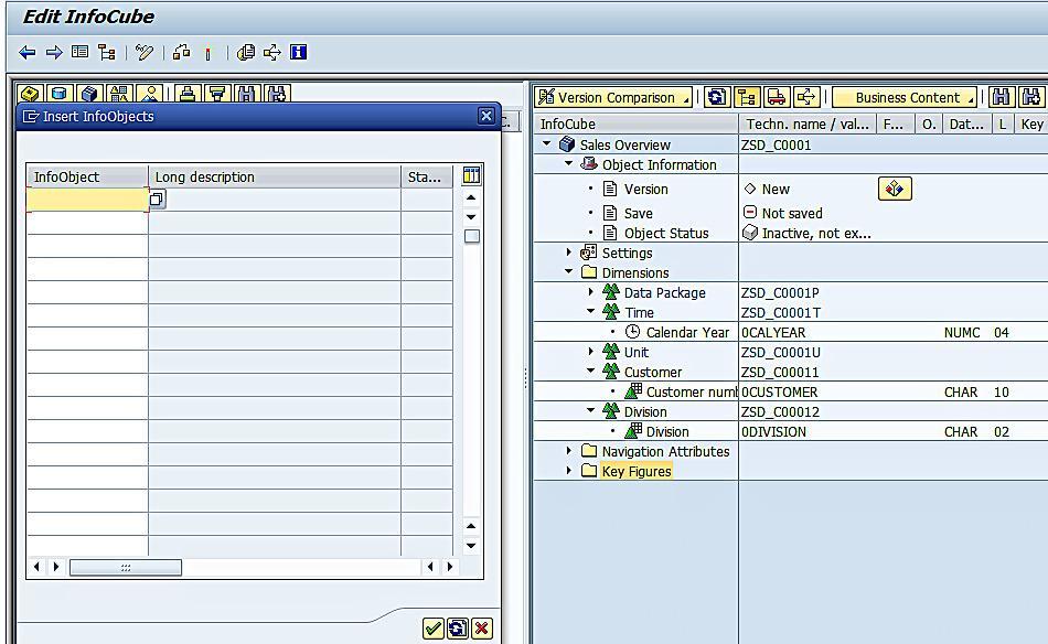 Adding Key Figures to InfoCube (2)