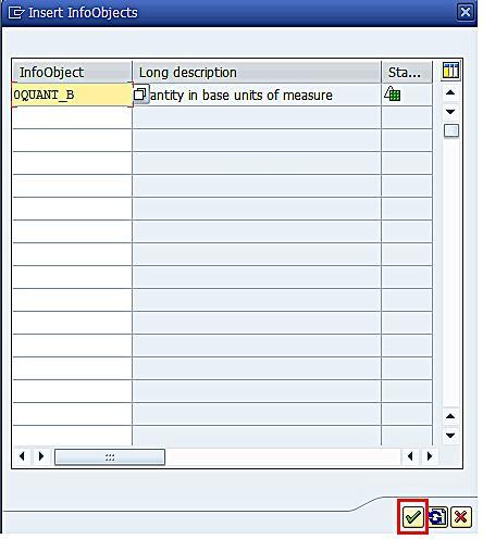 Adding Key Figures to InfoCube (3)