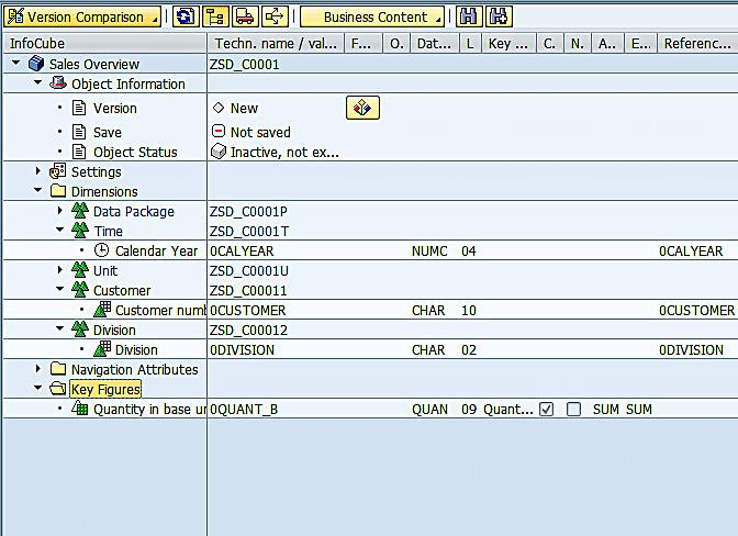 Adding Key Figures to InfoCube (4)