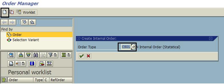 Create Statistical Order