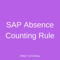SAP Absence Counting Rule