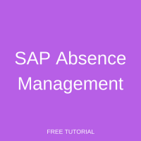 SAP Absence Management