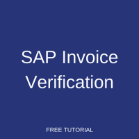 SAP Invoice Verification