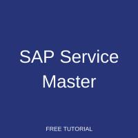 SAP Service Master
