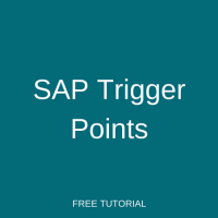 SAP Trigger Points
