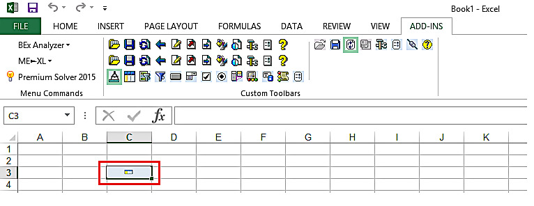 Inserted Analysis Grid