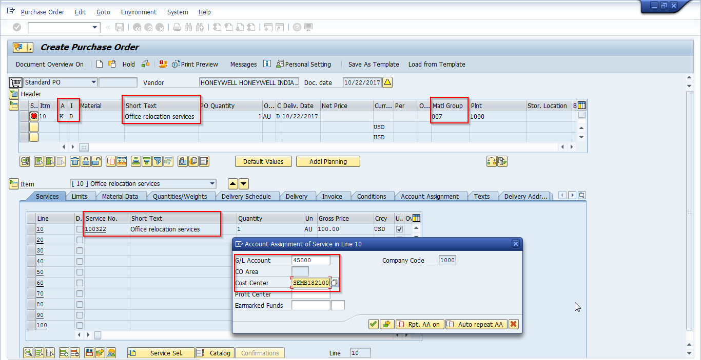 SAP Service Entry Sheet Tutorial - Free SAP MM Training