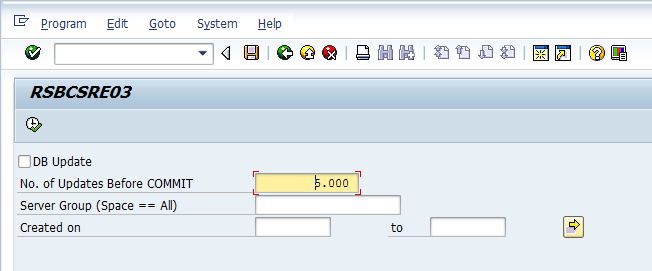 Deleting Email Logs That are Created by SAP BEx Broadcaster