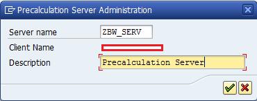 Creating Precalculation Server