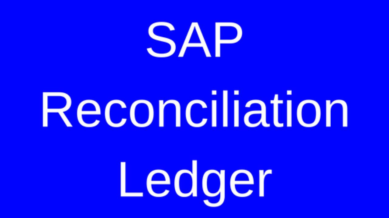 SAP Reconciliation Ledger Tutorial - Free SAP CO Training