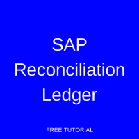 SAP Reconciliation Ledger