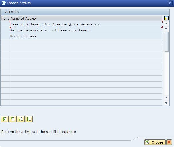 Figure 11: Activity List