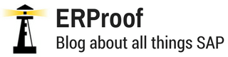 ERProof - Blog about All Things SAP