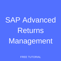 SAP Advanced Returns Management