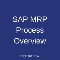 SAP MRP Process Overview