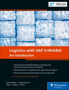 Logistics with SAP S/4HANA: An Introduction