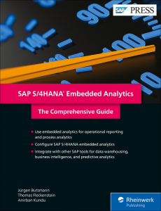 SAP S/4HANA Embedded Analytics: The Comprehensive Guide