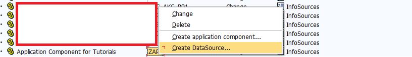 Creating DataSource