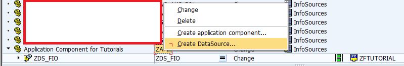 Creating Transaction Data DataSource