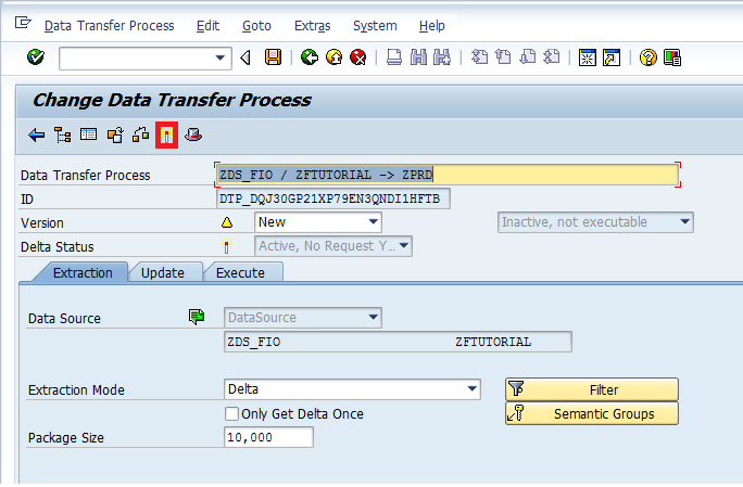 Creating a DTP