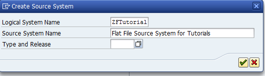Creating Flat File Source System