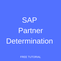 SAP Partner Determination