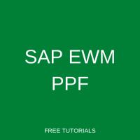SAP EWM PPF