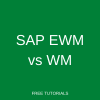 SAP EWM vs WM